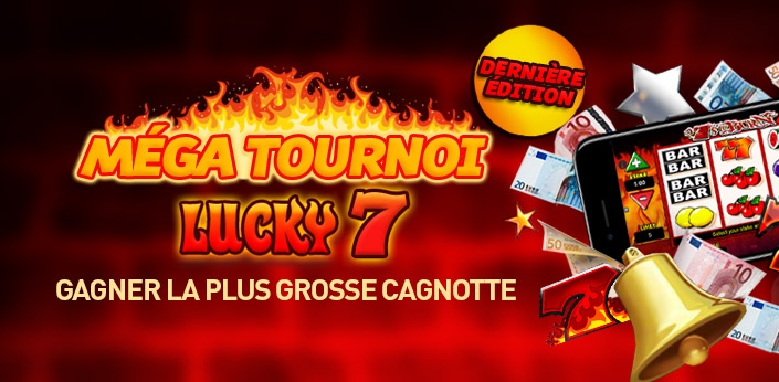 la derni re dition du m ga tournoi lucky 7 est lanc e casino en ligne l gal en. Black Bedroom Furniture Sets. Home Design Ideas
